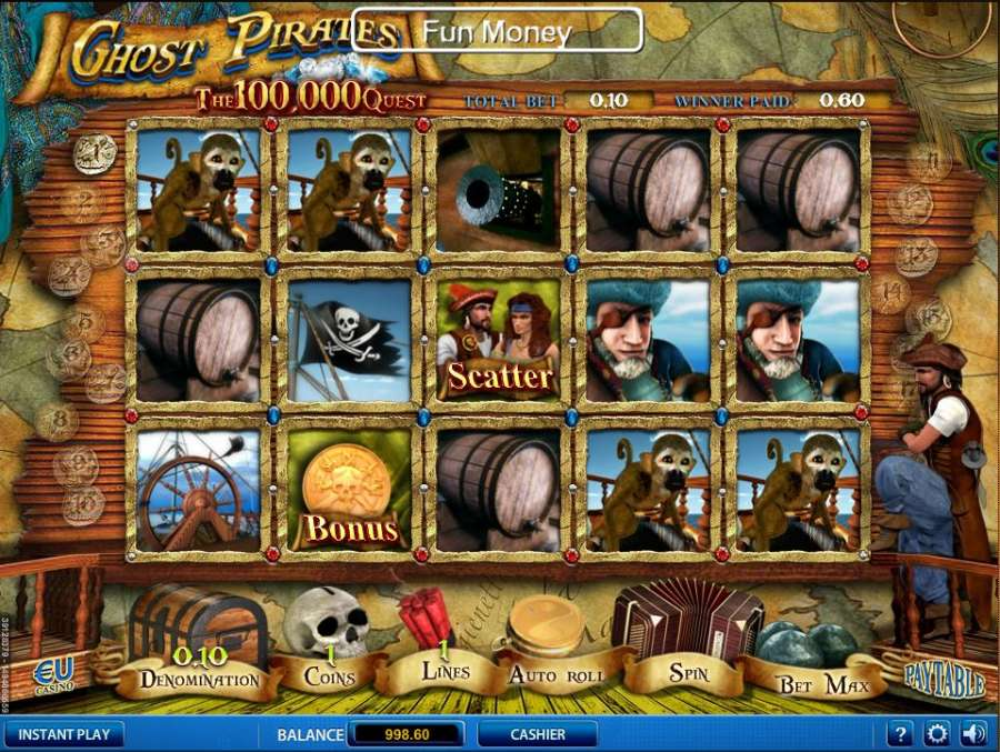 Ghost Pirates - Rizk Online Casino