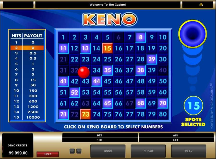 What Are The Best Numbers To Play In Keno