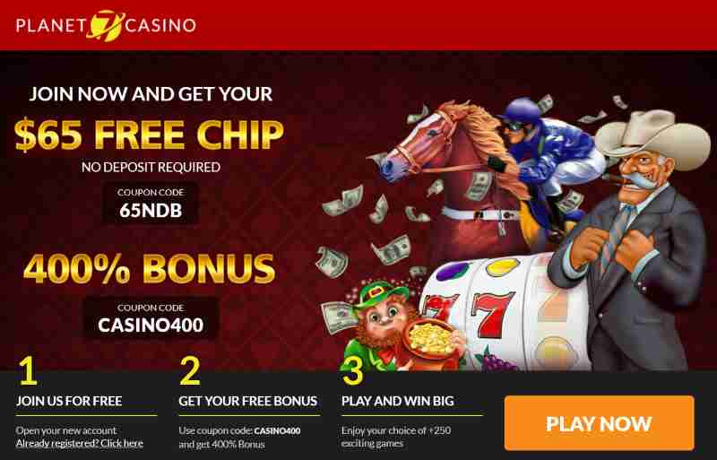 Planet7 Casino No Deposit Codes 65NDB