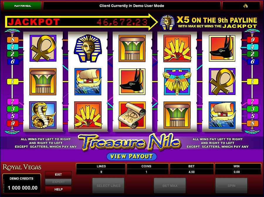 Treasure Nile Screenshot