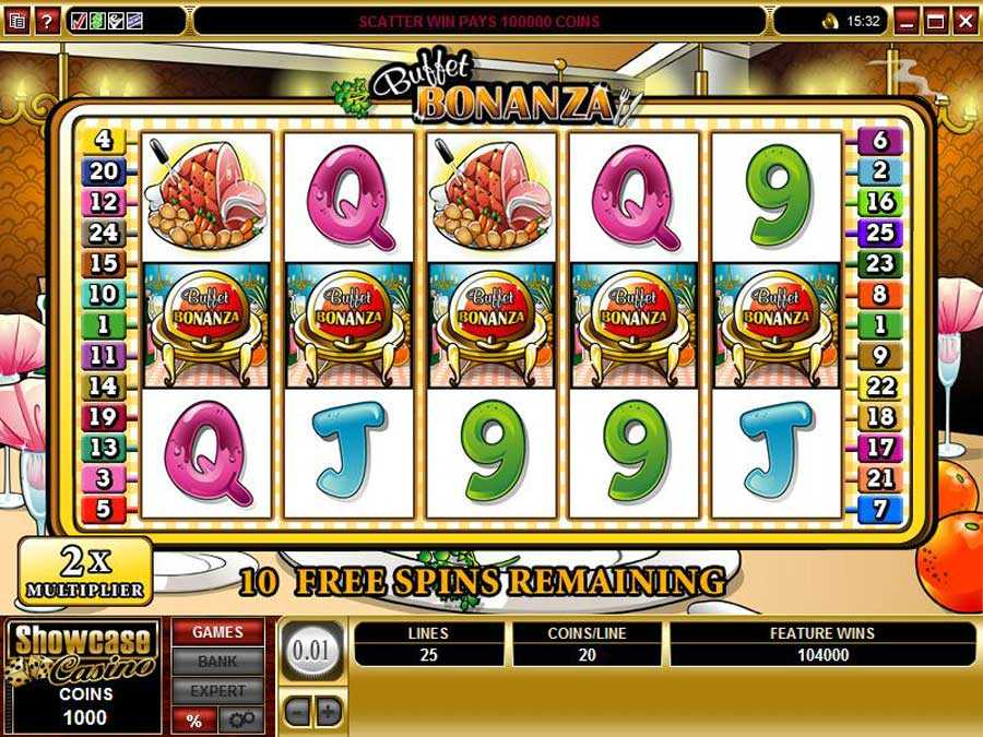 Buffet Bonanza Free Spins Play
