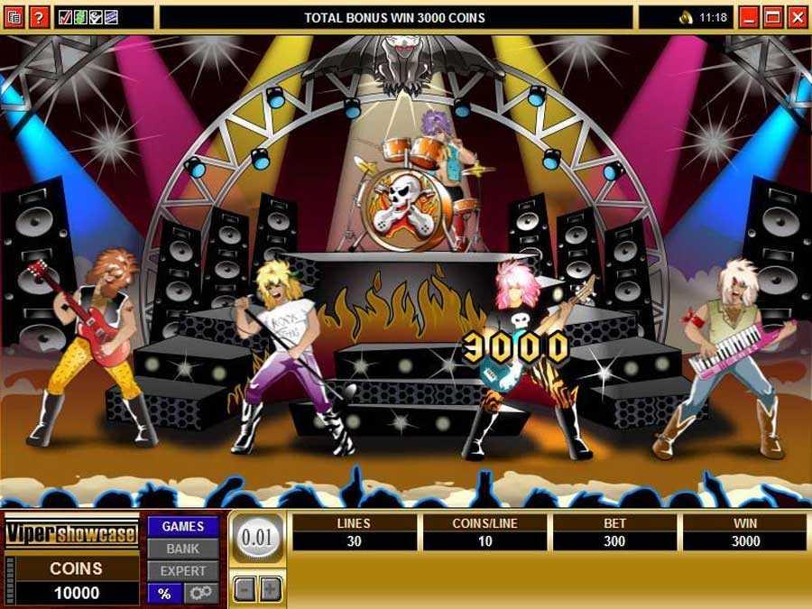 Get Rocked Slots Bonus Feature