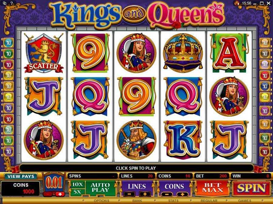 Kings and Queens Screenshot