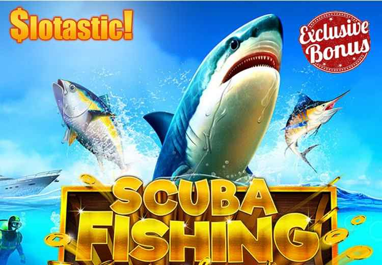 Slotastic Exclusive Scuba Fishing Free Spins Code