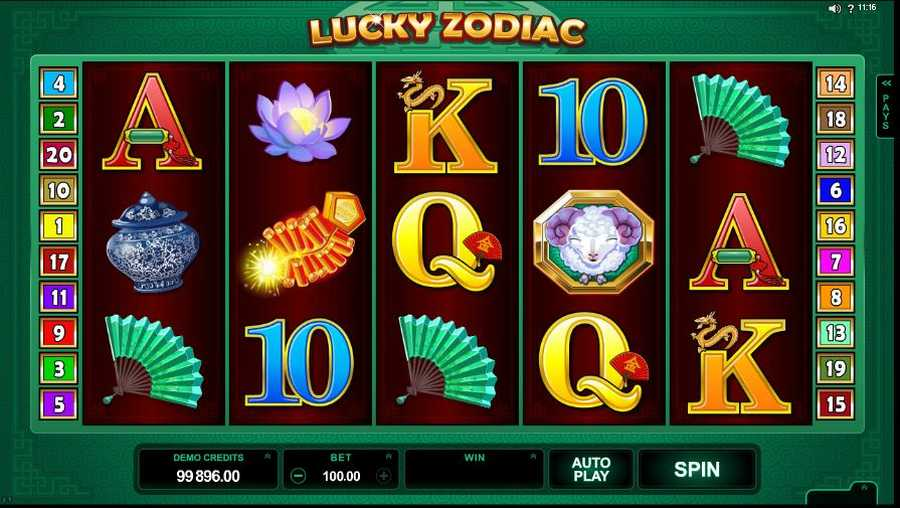 Lucky Zodiac Screenshot