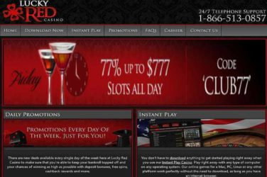 Lucky Red Friday Slots Deposit Bonus