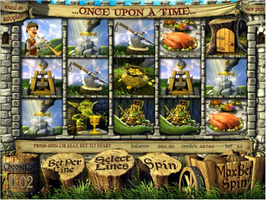 Once Upon a Time Main Slots