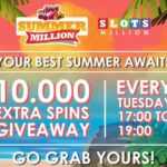 SlotsMillion Free Spins Giveaway