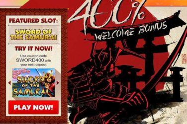 Slot Madness Sword of Samurai Bonus Code
