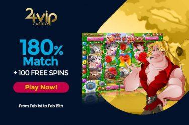 24vip Valentine's Day Bonus Promotion
