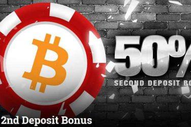 Betcoin 2nd deposit Bonus