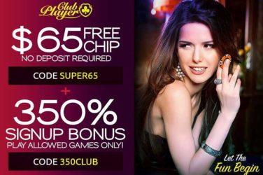 Club Player Deposit Bonus Code