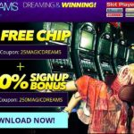 Dreams No Deposit Bonus 25MagicDREAMS