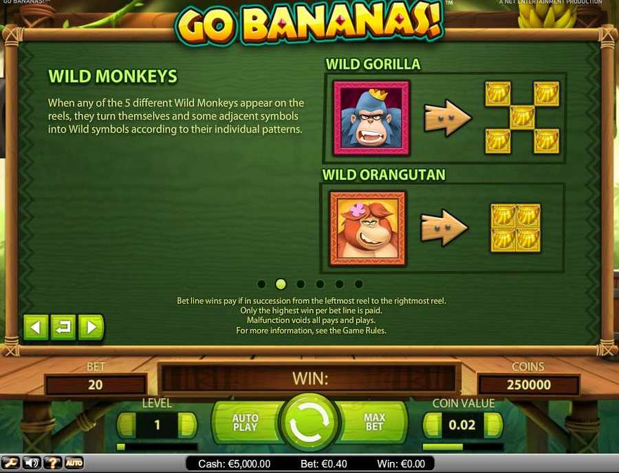 Go Bananas Wild Monkeys Feature