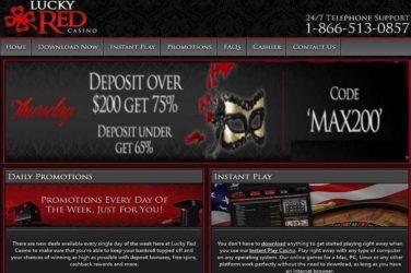Lucky Red Thursday Deposit Bonuses
