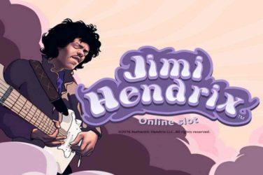 Jimi Hendrix legendary New Slots Game From Netent