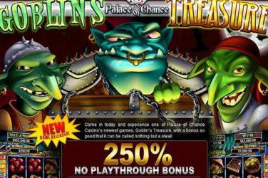 Palace of Chance No Play through Bonus