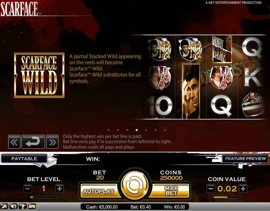 Scarface slot review