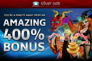 Silver Oak 40 Free Spins Bonus
