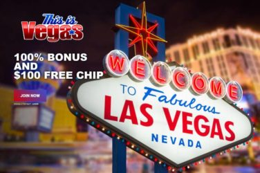 This is Vegas $100 No Deposit Bonus