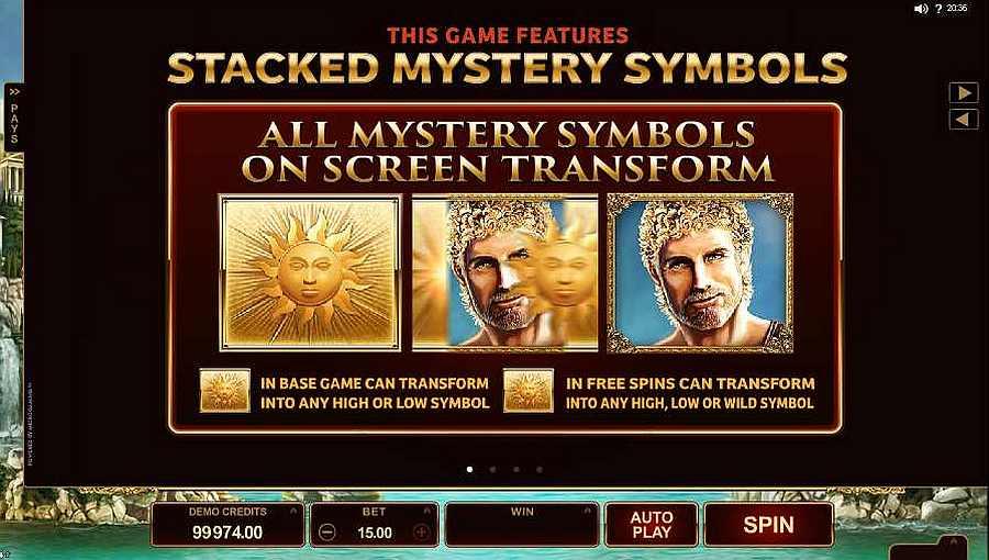 Stacked Mystery Symbols