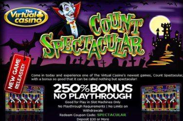 The Virtual Count Spectacular Bonus