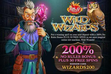 wild wizards bonus code