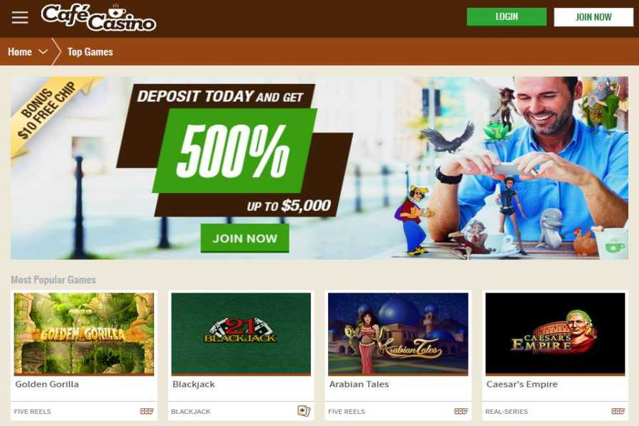 no deposit bonus code cafe casino