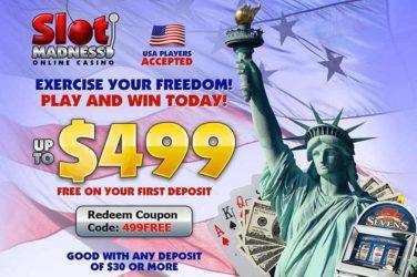 Slot Madness Deposit Bonus Code