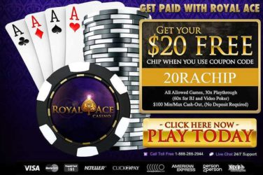 Royal Ace No Deposit Bonus Code