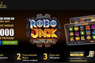 Go Wild Exclusive Robo Jack Bonus