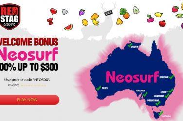 Red Stag Neosurf AUS Deposit Code