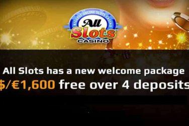 All Slots Welcome Bonus Package