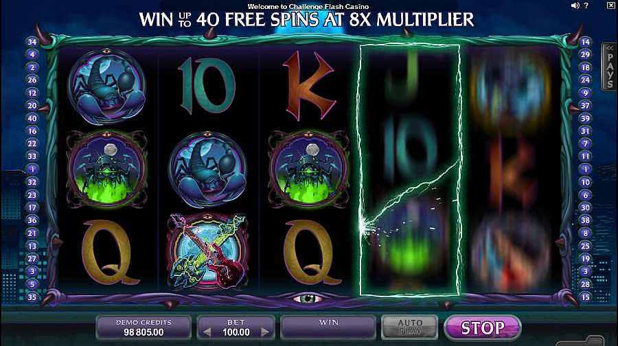 Electric Diva Slots Bonus Reel