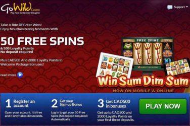 GoWild Win Sum Dim Sum Bonus