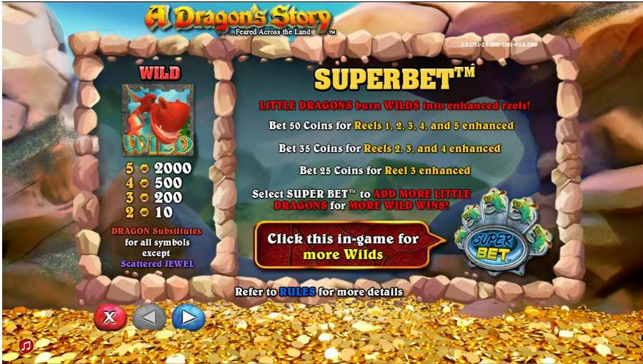 A Dragon Story Superbet Feature