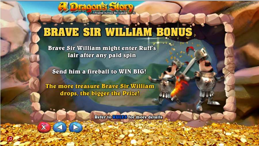 Brave Sir Williom Bonus Feature