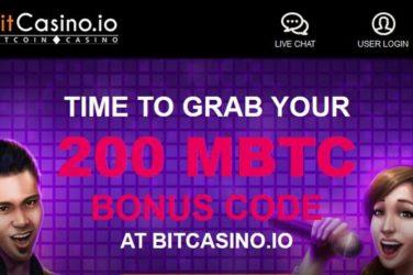 Bitcasino.io Karaoke Party Bonus Code