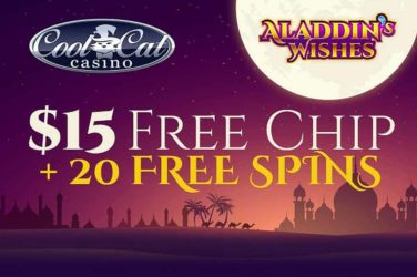Cool Cat Aladdin's Wishes Bonus Code