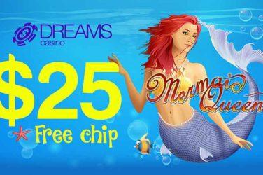 Dreams Mermaid Queen Bonus Code