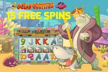 Slots of Vegas Ocean Oddities Bonus Code