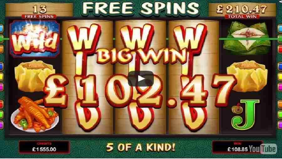 Win Sum Dim Sum Slot Video Game Trailer