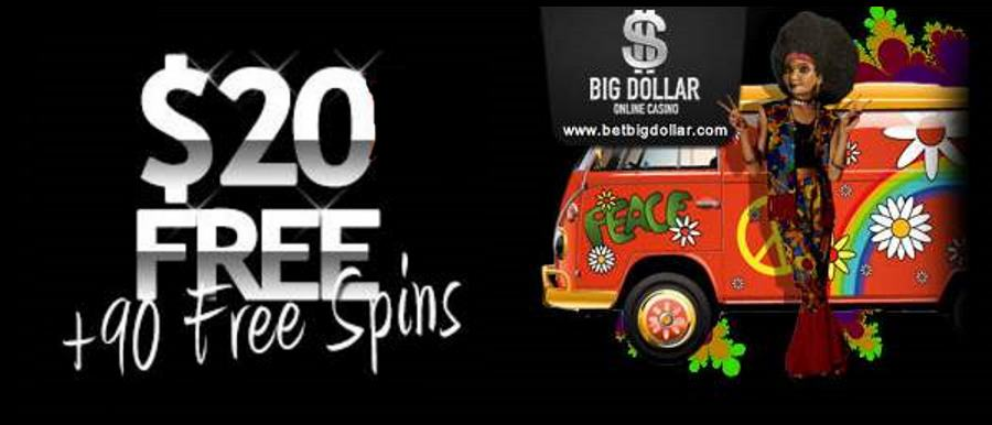 40 Free Spins at Big Dollar Casino