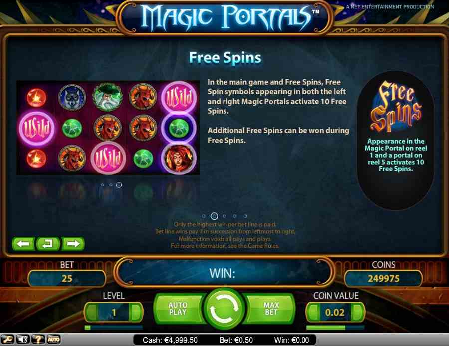 Free Spins Symbols Feature