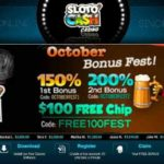 Slotocash October Bonus Fest Bonus Codes