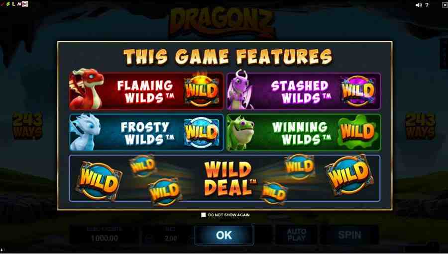 DragonZ Game Features