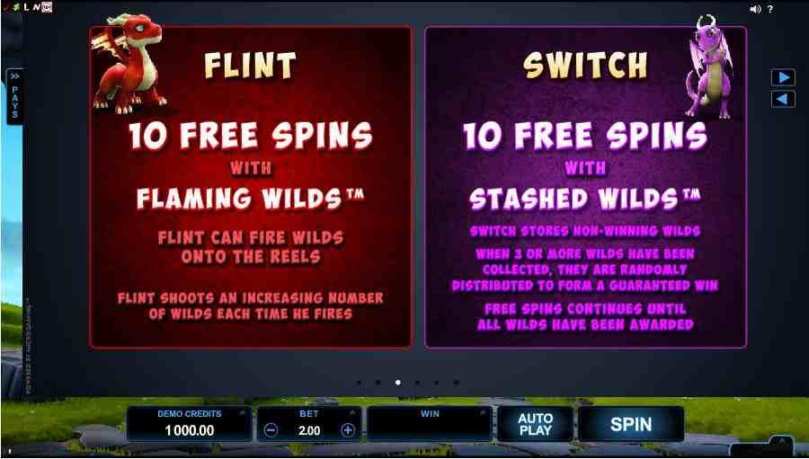 DragonZ Flint & Switch Symbols Value