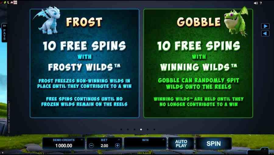 DragonZ Frost & Gobble Symbols Value