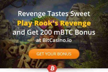 BitCasino Rooks Revenge BTC Bonus Code