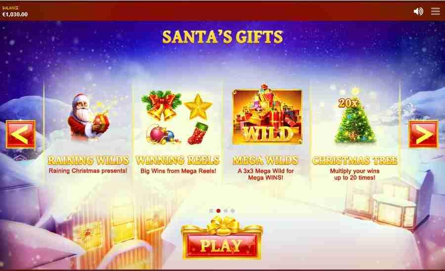 Jingle Bells Santa Gifts